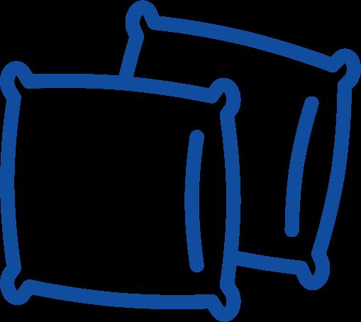 Poduszki piankowe ergonomiczne